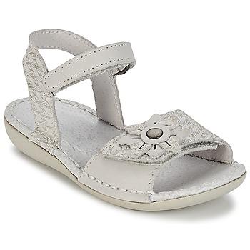 Topánky Dievčatá Sandále Kickers EVANA Biela / Broken