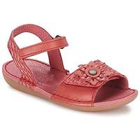 Topánky Dievčatá Sandále Kickers EVANA Ružová / Koralová