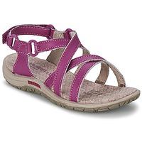 Topánky Dievčatá Športové sandále Merrell JAZMIN KIDS Fialová
