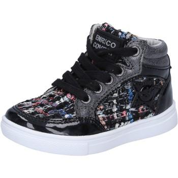 Topánky Dievčatá Členkové tenisky Enrico Coveri Tenisky BX822 Čierna