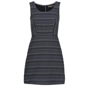 Oblečenie Ženy Krátke šaty Tom Tailor BLANKA Námornícka modrá / Biela