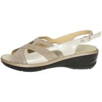 Topánky Ženy Sandále Novaflex BORRIANA 001 Beige