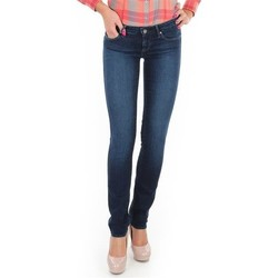 Oblečenie Ženy Rifle Skinny  Wrangler Jeansy  Skyline W26FX754R blue