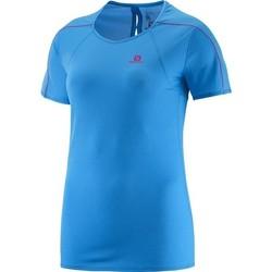 Oblečenie Ženy Tričká s krátkym rukávom Salomon Minim Evac Tee W 371146 blue