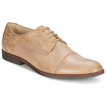 Topánky Muži Derbie Carlington PURP Béžová