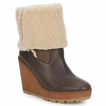 Topánky Ženy Čižmičky Pare Gabia NELICE Čokoládová