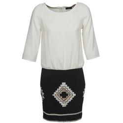 Oblečenie Ženy Krátke šaty One Step RAMBOUTAN Biela / Čierna