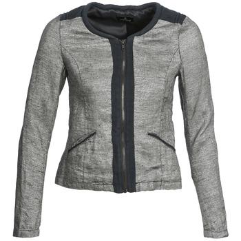 Oblečenie Ženy Saká a blejzre One Step VALSE Šedá / Námornícka modrá