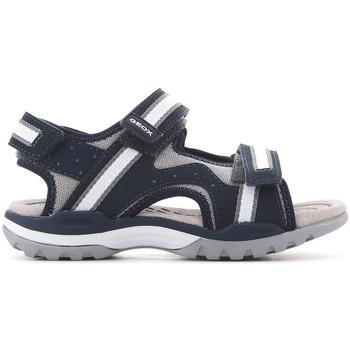 Topánky Deti Sandále Geox J Borealis J820RB 01050 C0661 navy , grey, white