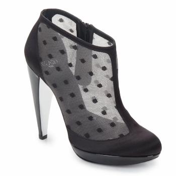 Topánky Ženy Nízke čižmy Azzaro INTERLUDE Čierna