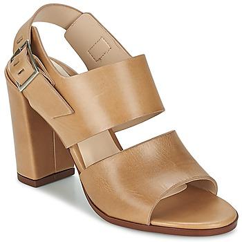 Topánky Ženy Sandále Dune CUPPED BLOCK HEEL SANDAL Béžová