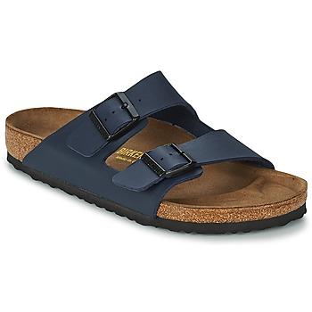 Topánky Muži Šľapky Birkenstock ARIZONA Modrá