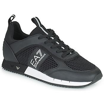 Topánky Muži Nízke tenisky Emporio Armani EA7 LACES U Čierna