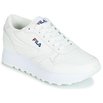 Topánky Ženy Nízke tenisky Fila ORBIT ZEPPA L WMN Biela