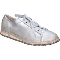 Topánky Ženy Nízke tenisky Moma BT47 Striebro