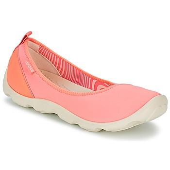Topánky Ženy Balerínky a babies Crocs DUET BUSY DAY FLAT Oranžová