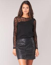 Oblečenie Ženy Blúzky Moony Mood JOULETTE Čierna