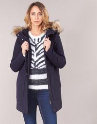 Oblečenie Ženy Kabáty Only ONLNOAH Námornícka modrá