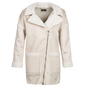 Oblečenie Ženy Kabáty Only ONLFELICITY Béžová
