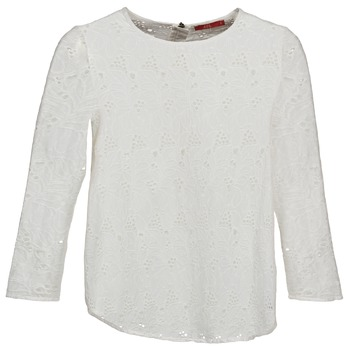 Oblečenie Ženy Tričká s dlhým rukávom Esprit VASTAN Biela