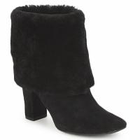 Topánky Ženy Čižmičky Rockport HELENA CUFFED BOOTIE Čierna