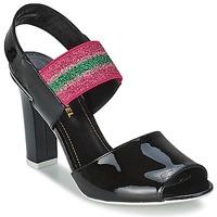 Topánky Ženy Sandále Sonia Rykiel 683902 Čierna / Ružová