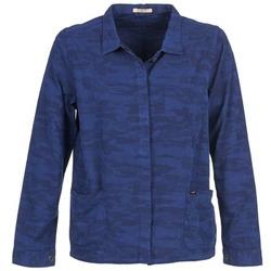 Oblečenie Ženy Saká a blejzre Lee CAMO Modrá