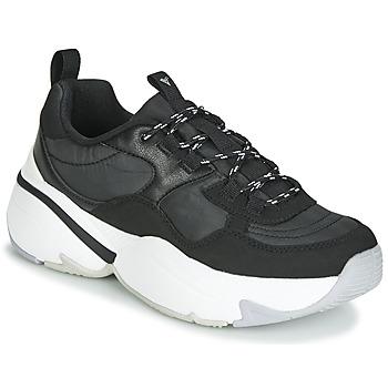 Topánky Ženy Nízke tenisky Victoria AIRE NYLON/SERRAJE PU Čierna