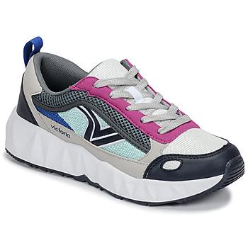 Topánky Ženy Nízke tenisky Victoria ARISTA MULTICOLOR Biela / Ružová