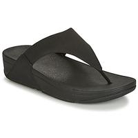 Topánky Ženy Žabky FitFlop LULU SHIMMERLUX Čierna