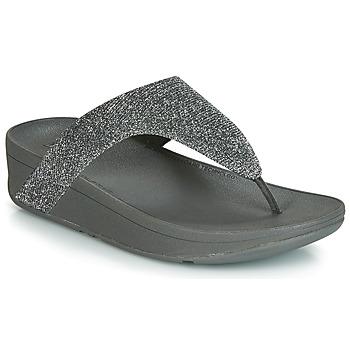 Topánky Ženy Žabky FitFlop LOTTIE GLITZY Strieborná