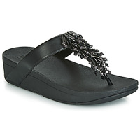 Topánky Ženy Žabky FitFlop JIVE TREASURE Čierna