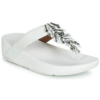 Topánky Ženy Žabky FitFlop JIVE TREASURE Biela