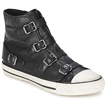 Topánky Ženy Členkové tenisky Ash VIRGIN čierna
