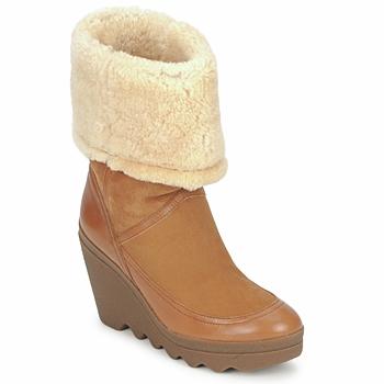 Topánky Ženy Čižmičky Ash VARUSHKA Ťavia hnedá