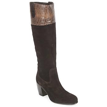 Topánky Ženy Čižmy do mesta C.Doux ENZO BOT Hnedá