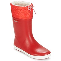 Topánky Deti Obuv do snehu Aigle GIBOULEE Červená / Biela