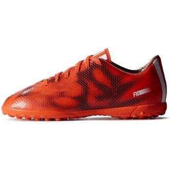 Topánky Deti Futbalové kopačky adidas Originals F10 TF J Čierna,Oranžová