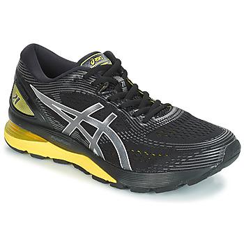 Topánky Muži Bežecká a trailová obuv Asics GEL-NIMBUS 21 Čierna / Žltá