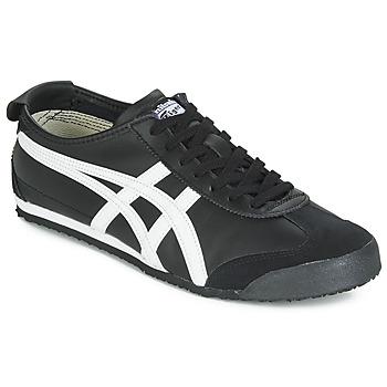 Topánky Nízke tenisky Onitsuka Tiger MEXICO 66 LEATHER Čierna / Biela