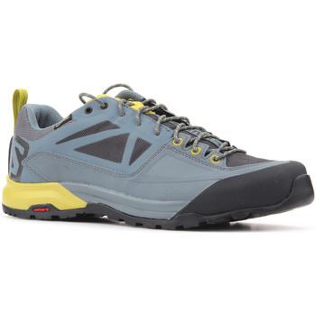 Topánky Muži Nízke tenisky Salomon Trekking shoes  X Alp SPRY GTX 401621 grey, yellow