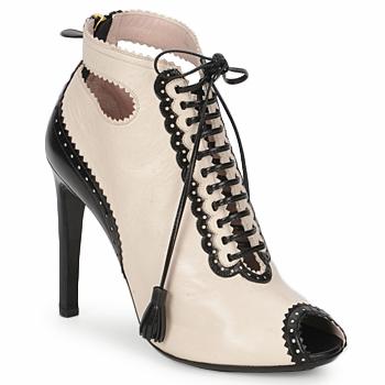 Topánky Ženy Nízke čižmy Moschino MA1602A Béžová