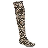 Topánky Ženy Vysoké čižmy Missoni SM05 Béžová
