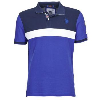 Oblečenie Muži Polokošele s krátkym rukávom U.S Polo Assn. REMY Námornícka modrá / Biela