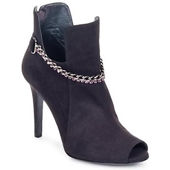 Topánky Ženy Čižmičky Magrit DIAMOND LOW Čierna