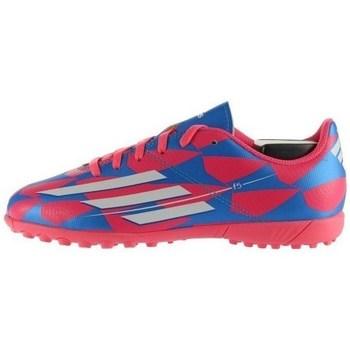 Topánky Deti Futbalové kopačky adidas Originals F5 TF J Biela, Modrá, Ružová