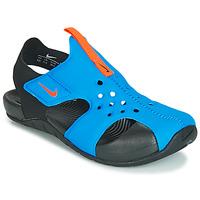 Topánky Deti Sandále Nike SUNRAY PROTECT 2 PS Čierna / Modrá