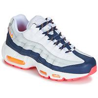 Topánky Ženy Nízke tenisky Nike AIR MAX 95 W Biela / Modrá / Oranžová