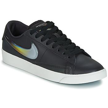 Topánky Ženy Nízke tenisky Nike BLAZER LOW LX W Čierna / Strieborná